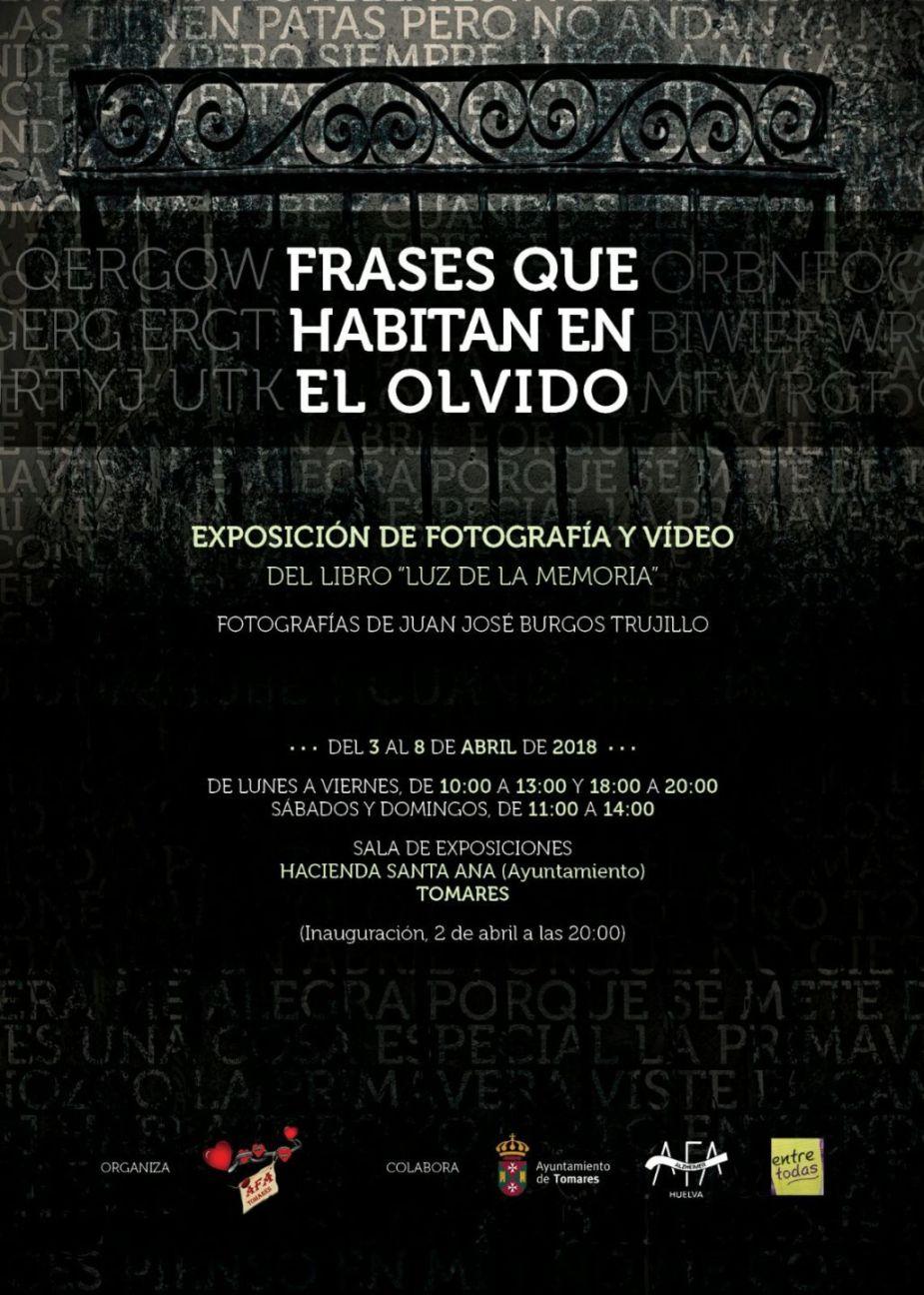 Del 2 Al 8 De Abril Exposición Sobre El Alzheimer Frases