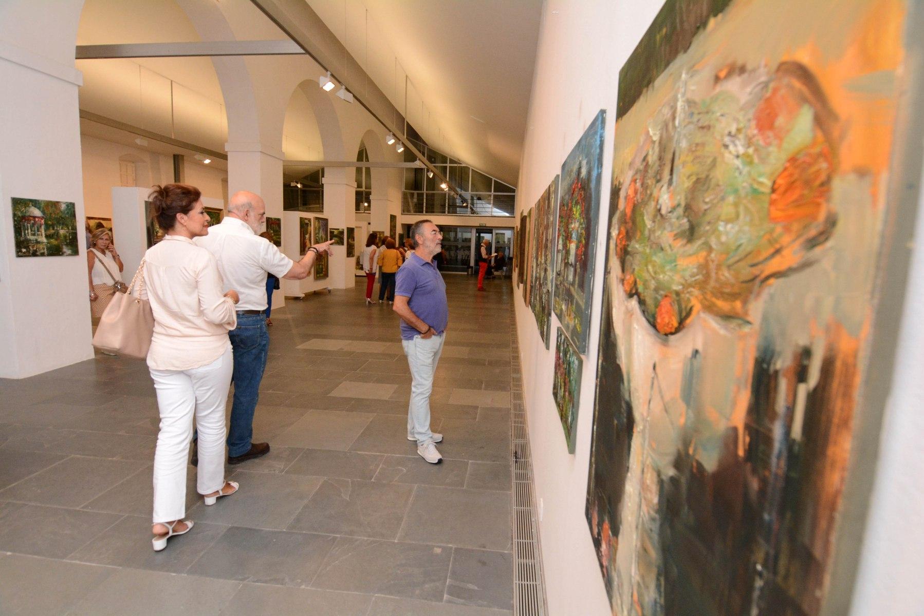 Tomares Acoge La Exposicion Pintura Sevillana Del Reconocido