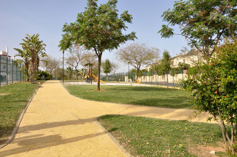 El ayuntamiento pavimenta de hormig n impreso los senderos for Camino hormigon