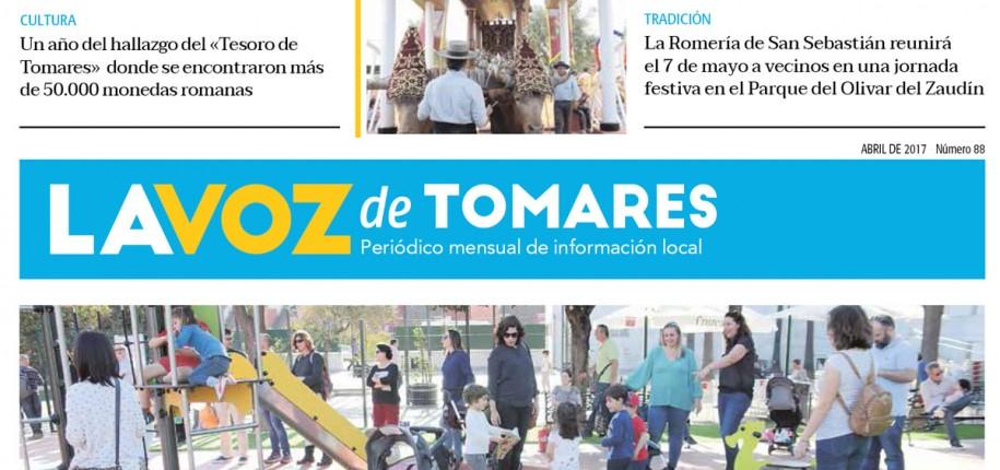 Ya puedes leer 'La Voz de Tomares' del mes de abril 2017